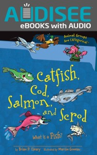 Cover Catfish, Cod, Salmon, and Scrod