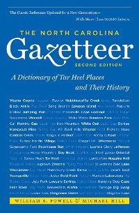 Cover The North Carolina Gazetteer, 2nd Ed