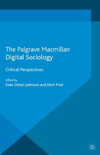 Cover Digital Sociology