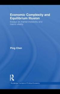 Cover Economic Complexity and Equilibrium Illusion