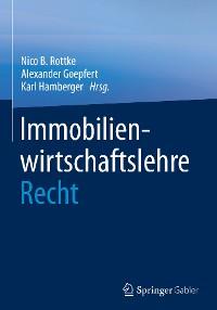 Cover Immobilienwirtschaftslehre - Recht