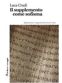 Cover Il supplemento come sofisma
