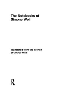 Cover Notebooks of Simone Weil