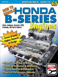 Cover How to Rebuild Honda B-Series Engines