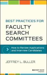 Cover Best Practices for Faculty Search Committees