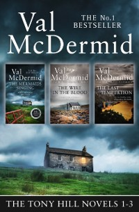 Cover Val McDermid 3-Book Thriller Collection: The Mermaids Singing, The Wire in the Blood, The Last Temptation (Tony Hill and Carol Jordan)