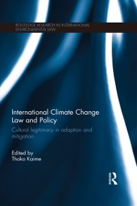 Cover International Climate Change Law and Policy