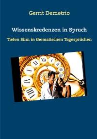 Cover Wissenskredenzen in Spruch