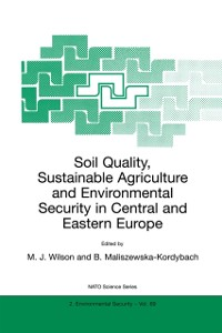 Cover Soil Quality, Sustainable Agriculture and Environmental Security in Central and Eastern Europe