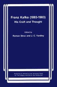 Cover Franz Kafka (1883-1983)