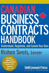 Cover Canadian Business Contracts Handbook