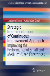Cover Strategic Implementation of Continuous Improvement Approach
