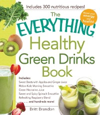 Cover Everything Healthy Green Drinks Book