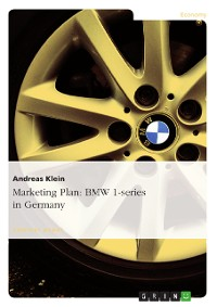 Cover Marketing Plan: BMW 1-series in Germany