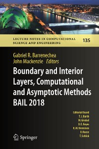 Cover Boundary and Interior Layers, Computational and Asymptotic Methods BAIL 2018