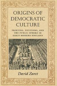 Cover Origins of Democratic Culture