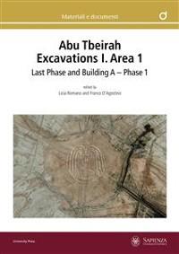 Cover Abu Tbeirah Excavations I. Area 1