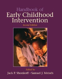 Cover Handbook of Early Childhood Intervention