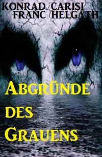 Cover Abgründe des Grauens