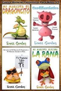 Cover Cuatro Historias Fantásticas Para Niños 3-5
