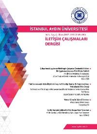Cover İSTANBUL AYDIN ÜNİVERSİTESİ İLETİŞİM ÇALIŞMALARI DERGİSİ