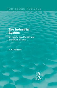 Cover Industrial System (Routledge Revivals)