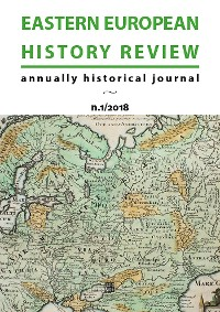 Cover Eastern European History Review