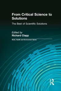 Cover From Critical Science to Solutions