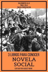 Cover 3 Libros para Conocer Novela Social