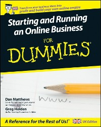 Cover Starting and Running an Online Business For Dummies