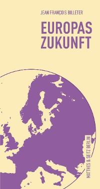 Cover Europas Zukunft