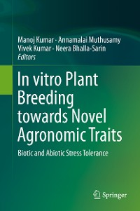 Cover In vitro Plant Breeding towards Novel Agronomic Traits