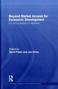 Cover Beyond Market Access for Economic Development