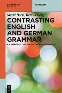 Cover Contrasting English and German Grammar