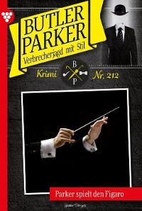 Cover Butler Parker 212 – Kriminalroman