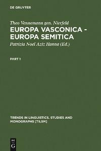 Cover Europa Vasconica - Europa Semitica