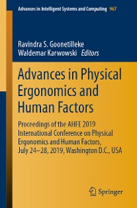 Cover Advances in Physical Ergonomics and Human Factors