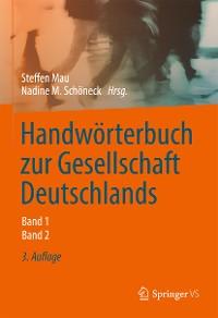 Cover Handwörterbuch zur Gesellschaft Deutschlands