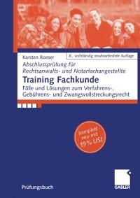 Cover Training Fachkunde