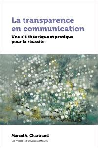 Cover La transparence en communication