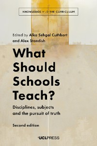 Cover What Should Schools Teach?