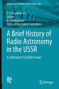 Cover A Brief History of Radio Astronomy in the USSR