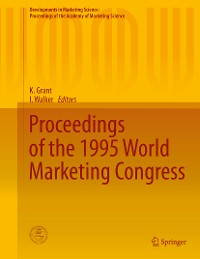 Cover Proceedings of the 1995 World Marketing Congress