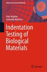Cover Indentation Testing of Biological Materials