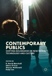 Cover Contemporary Publics