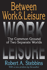 Cover Between Work and Leisure