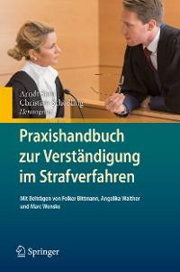 Cover Praxishandbuch zur Verständigung im Strafverfahren
