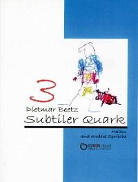 Cover Subtiler Quark