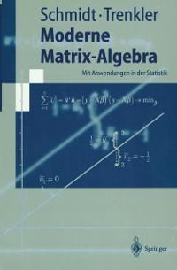 Cover Moderne Matrix-Algebra