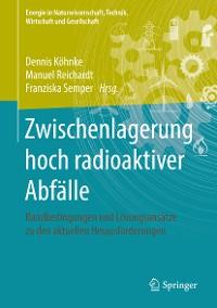 Cover Zwischenlagerung hoch radioaktiver Abfälle